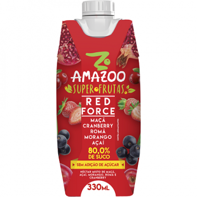 Amazoo Superfrutas Red Force 330ml